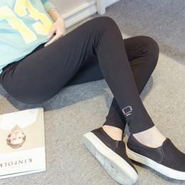 $enCountryForm.capitalKeyWord Australia - Pregnant Women Pants Soft Adjustable High Elasticity Cotton Leggings for Pregnant Solid Leggings Spring Fall Maternity Clothing