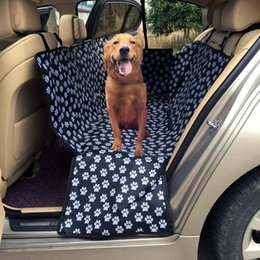 $enCountryForm.capitalKeyWord NZ - Waterproof Pet Pad Dog Car Seat Cover Dog Carrier Cover Protector Carrying For Car Pet Supplies Carry Put in the back seat