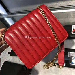 $enCountryForm.capitalKeyWord Australia - Hot Sell Newest Style Classic Fashion bags women handbag bag Shoulder Bags Lady Small Chains brand Quilting Stitching Flipping bag 2612