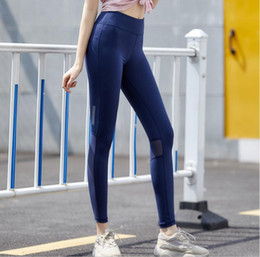 $enCountryForm.capitalKeyWord NZ - Hot sale!!! Hot! Newest Classic Hot Full Color Dark Blue Solid Color Nine Point Women Pants Yoga Sportswear