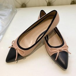 $enCountryForm.capitalKeyWord Australia - High quality sexy pointed flat shoes,womens ballet shoes,fashion party dress shoes, casual dress leather shoes,breathable and comfortabl qf