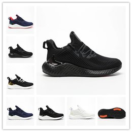 Golf Systems NZ - Sales promotion Popular Popcorn Chaussures White black blue high quality Alphaboost System M men women casual running basketball sneaker