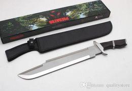 Raro !!! Tactical Survival Hunting Bowie Massive Knife Coltello predatore lama lama in Offerta