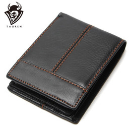 China Wallet Leather Australia - Fashion And Vintage Wallet For Man Wholesale China 100% Genuine Leather Men's Wallets Men Cowhide