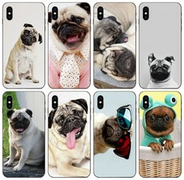 cute cases for iphone 5c NZ - [TongTrade] Cute Toy Pug Dog Fashion Face Animale Case For iPhone 11 Pro Max X XS XR 6s 5s 5c 5 SE Samsung J2 J3 J5 J7 Huawei Mate 20 Case