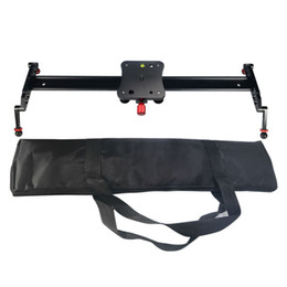 max tracks NZ - Freeshipping Mcoplus 24'' 60cm Camera Video Track Dolly Slider Stabilizer System for DSLR DV Cameras Camcorder Photography Max load 8kg