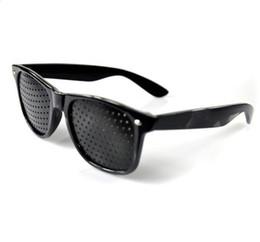 $enCountryForm.capitalKeyWord NZ - Unisex Vision Pin hole Eyeglasses Anti-fatigue Pinhole Glasses Eye Exercise Eyesight Improve Natural Healing Glasses Eye health tools QQA448