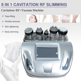 Wholesale Promotion Ultrasonic Cavitation machine Liposuction Slimming RF Radio frequency wrinkle removal Red Photon Skin Care Device