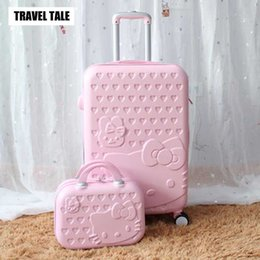 $enCountryForm.capitalKeyWord Australia - TRAVEL TALE 14inch Cosmetic Bag 20 24 28 Inch Lovely Hello Kitty Girl Student Trolley Case Travel Luggage Woman Rolling Suitcase