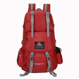 Wholesale Basketball Backpacks Australia - Cross-border Foreign Trade Hot New Products Large Capacity 50 L Water-repellent Backpack Unisex Hiking Travel Backpack