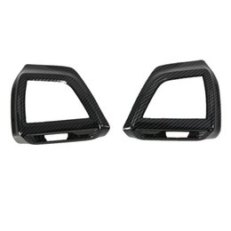 $enCountryForm.capitalKeyWord Australia - For SUBARU Forester 2019 2PCS ABS Chrome Car Front Air Conditioning Outlet Vent Cover Trim Car Styling Accessories