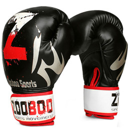 e409fcc8d 1 Pair Mma Muay Thai Boxing Gloves Sanda Kungfu Wushu Fighting Sandbag  Training Professional Boxing Gloves Sport Safety