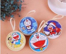 Coin Shape Dresses NZ - 4pcs cartoon pocket for children gifts pocket keys coin receipt bag earphone bag wholesale