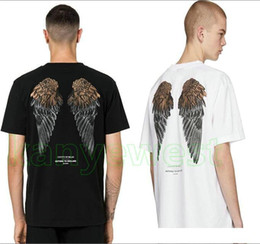 $enCountryForm.capitalKeyWord Australia - 2019 new summer fashion brand clothing marcelo burlon county of berlin print t shirt designer T shirts Drill angel wings t shirts casual tee