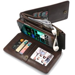 $enCountryForm.capitalKeyWord Australia - 2019 hot sale leather mobile phone case Unique designed Multi-function phone case iphone wallet phone carry case