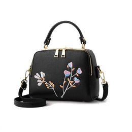 small double zipper bag Australia - new women double zipper sequined embroidery small flap handbag fashion ladies purse famous brand messenger crossbody shoulder bags