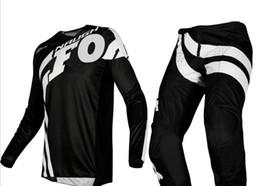 $enCountryForm.capitalKeyWord Australia - NEW 2019 NAUGHTY Fox Mens Black White 180 Cota Dirt Bike Jersey & Pants Kit Combo Adult Motocross Gear Set MX ATV Dirt Bike