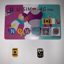 La dernière version originale et fantôme carte Unlock USIM 4G LTE RSIM pour iPhone XR XS MAX avec DHL gratuit en Solde