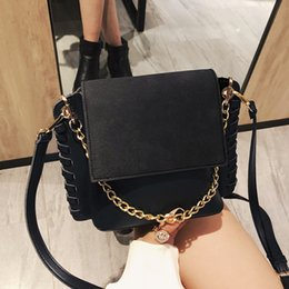 Suede Ladies Handbags NZ - Small Handbags Women Suede Leather Shoulder Mini Crossbody Bag Sac A Main Femme Ladies Messenger Bag Long Strap Female Clutch