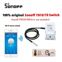 Temperature Controller Wireless Australia - Sonoff RF Smart Wifi Switch Wireless Remote Control Light Switch Home Controller Temperature Sensor Work with Alexa and Google Android iOS
