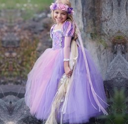 princess dress for kids dance Australia - New Fashion Childrens Puff Sleeve Princess Ball Gown Dress For Birtyday Party Baby Girls Elegant Tulle Dance Dress Kids Clothing