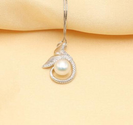 $enCountryForm.capitalKeyWord Australia - natural freshwater baroque pearl unique fish lovely pendant 925 silver sterling for girfriends daughter gift PH