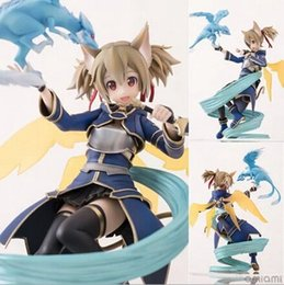 $enCountryForm.capitalKeyWord NZ - NEW hot 20cm Sword Art Online shirica shirika action figure toys collection christmas toy doll with box