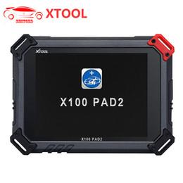 Original Oil NZ - Original XTOOL X100 Pad 2 PAD2 Auto Key Programmer with EPB EPS OBD2 Odometer Oil Reset TPMS X-100 PAd 2 Better than X300 pro3