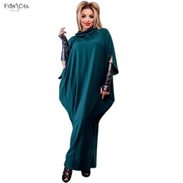 $enCountryForm.capitalKeyWord Australia - 5Xl 6Xl 2019 New Plus Size Women Dress Big Vestidos Chiffon Loose Long Dress Maxi Lady Long Dresses Casual Size