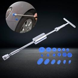 $enCountryForm.capitalKeyWord Australia - Paintless Dent Repair Hail Removal T Bar Slide Hammer+18pcs Glue Puller Tabs Nin