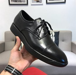 Dress Pink Grey Australia - 18ss 31model Italian Top Leather Mens Dress Shoes Original Box Casual Shoe High Top Leather Black Grey Men's Size 38-45 With Box