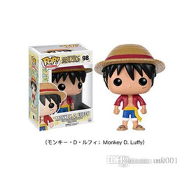 $enCountryForm.capitalKeyWord Australia - Beauty Funko POP Luffy Tony Tony Chopper Trafalgar`Law Ace Action Figures PVC Anime Toys Japanese Cartoon Doll Toys For Collection 10cm