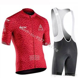 spain clothing UK - UCI all pro teams Spain NW cycling jersey Quick-Dry Cycling Clothing Breathable sportswear set Maillot Ropa Ciclismo Hombre Bicycle Jerseys