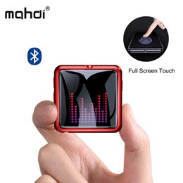 Video Screen Recorder Australia - Mahdi M260 Mp3 Player Bluetooth 4.1 Voice Recorder Music Player Mp3 Touch Screen Portable HIFI USB Metal TF Card Fm Video Mini