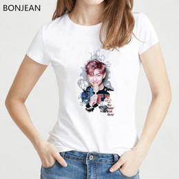 $enCountryForm.capitalKeyWord Australia - Kpop BTS Bangtan Boys JUNG KOOK JHOPE JIN JIMIN V SUGA bts t-shirt Women tshirt tee shirt Femme k-pop Accessories