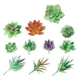 mini garden gifts Australia - Home Artificial succulents Garden Decoration Balcony Decor Gifts Set Mini