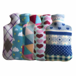$enCountryForm.capitalKeyWord Australia - Dropshipping Flanel Cloth Hot Water Bottle Cover Bag Explosion Proof Rubber Hot Water Bottles Covers Removable Hand Heater