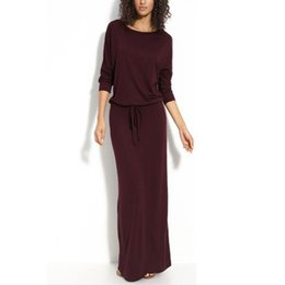 f67b9521d4b9d Shop Casual Dress Red Wine UK | Casual Dress Red Wine free delivery ...
