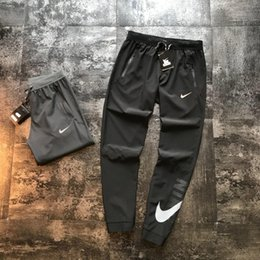 Wholesale jogger pants resale online – 2020 United States sports joggers designer luxury pants mens trousers spring travel Energetic high quality cotton tooling running trousers