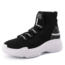 $enCountryForm.capitalKeyWord UK - Shark Sneakers Women Men High Top Breathable Winter Warm Flats Platform Women Shoes With Fur Unisex Footwear Casual Shoes