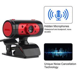 $enCountryForm.capitalKeyWord Australia - Wholesale HD USB Webcam CMOS Sensor Web computer camera free drive 720P microphone HD camera Video Calling