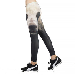 90a177e1ba7e6 Panda print Hot Sale Women Mesh Pattern Leggings Fitness Sexy Women  Sporting Workout Leggins Jogging High Waist Elastic Pants