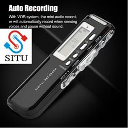 Mini Digital Audio Australia - Digital Voice Recorder Pen Multi-language 8GB Memory Auto Recording Mini Audio Recorder Phone Call Recording