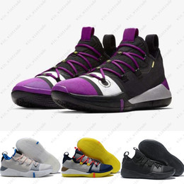03690d52c3e 2019 kobe basketball shoes for men size ad ep multi color chaos vivid  purplr size 40-46