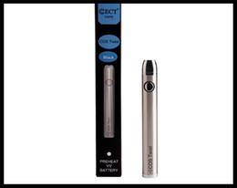 Micro Oil Australia - 510 micro vape pen battery variable voltage smoking bud pen electronic smoking thick oil cartridges bottom twist VV vape pen mini e cig