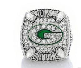 wonderful 2pcs lots World Champion diamond crystal 925 silver Men's Fan Ring up-market gift free shipping 1996