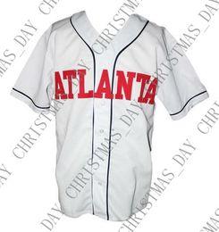 Baseball Power Australia - Cheap Custom Kenny Powers Atlanta Eastbound & Down Tv Baseball Jersey Button White Stitched Any player jersey college baseball jersey XS-5XL