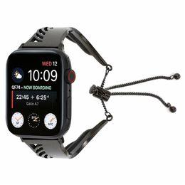 $enCountryForm.capitalKeyWord Australia - Wing Bracelet Strap For Apple Watch Band 42mm Series 38mm Bracelet Replacement Link Bracelet Watchband For IWatch Fine Metal Wrist Belt