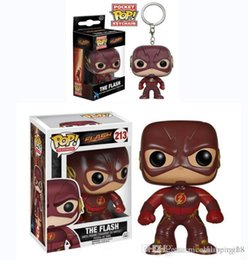 Men Toys For Sale Australia - Sale Funko POP Lightning man Vinyl Action Figure With Box #629 Toy for childrens gift hot sell Doll Good Quality 2 style ,keyring