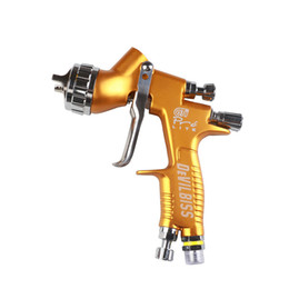 Automotive Paintings Australia - Spray Gun Paint High Efficiency TE20 Automotive Refinishing Golden Painting Gun 1.3mm Nozzle